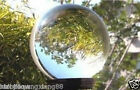 ASIAN QUARTZ CLEAR CRYSTAL BALL SPHERE 40-150mm+ STAND