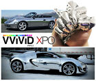 Vvivid Xpo Silver supercast chrome car wrap vinyl