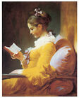 A Young Girl reading, c.1776 - Jean-Honore Fragonard - Art on Canvas