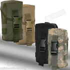 "Velcro Snap Closure Triple Pouch - MOLLE Compatible, 7 5.8"" x 3 1.4"" x 3 1.8"""