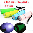 New Mini Portable Sports Camping Bright 9 LED Light Lamp Flashlight Torch 3*AAA