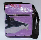 Recycled Fish Feed Small Deluxe Messenger Bags Handmade in Cambodia Fair Trade!!