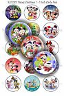 Pre-Cut 1 Inch Circle - Christmas Bottle Cap Images of Your Choice $2.95 USD