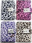 Animal Print Diary Cheetah Teen Locking Journal with Key 4 Color Schemes RM1322