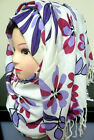 WOMENS FLORAL PASHMINA HIJAB SCARF SCARVES STOLE SHAWL NECK WRAP HEAD DRESS