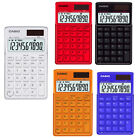 Casio SL-1110TV 5 color Portable type Calculators Stylish Cool Design 10-Digits