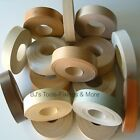LOT A IRON-ON EDGING PRE-GLUED EDGE TAPE VARIOUS LENGTHS  22mm  22 OF 80 COLOURS