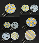 4X G4 1W/1.8W 90/145LUMN 6/9SMD 5050 LED Light Pure/Warm White Bulb Lamp AC 12V