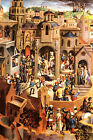 The passion of Christ by Memling- Life of JESUS CHRIST in Art Canvas