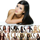 22''Beauty Wrap Remy Fusion I Stick Tip Human Hair Extensions 8Color Salon Style