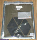 EXO EXO-K EXO-M SM LOTTE POP UP STORE KHAKI SHORT SLEEVE T-SHIRT NEW