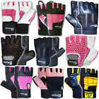Weight Lifting Gloves Body Bulding Gym Exercise Fitness Gloves Ladies ,Mens
