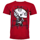 Family Guy T Shirts Official Tv Merchandise Top Punk Anarchy Stewie Red Tshirt