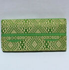 Thai Silk Ladies Wallet Khmer Design Brand New! Many Colours