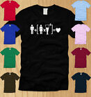 BEER + WOMEN  = LOVE LADIES T-SHIRT SMALL funny drinking college bar party tee S