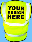Custom HI VIZ Vests - Printed with your text, logo or company name!