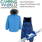 Trespass IGGLE 2 Piece Warm Winter Ski Baby Snow Suit - Blue or Pink