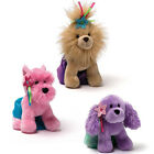 Gund Kids Princess Pet Hounds rrp £9.95 1 Barking Cuddly Soft Plush Dog Toy 5""