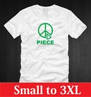 FUNNY PEACE T-SHIRT Mens S M L XL 2XL 3XL funny world piece nerdy recycle tee