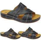 MENS COMFORT QUALITY WALKING HOLIDAY BEACH SANDALS MULES SLIPPERS SHOES SIZES