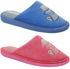 NEW LADIES SLIPPERS WOMENS OPEN BACK TEDDY SOFT COMFORT MULES SHOES SIZES 3-8 UK