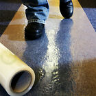 CARPET PROTECTION FILM SELF ADHESIVE PROTECTOR 600MM x 50&100M ROLLS DECORATING