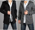 NEW Men's WINTER Wool Coat Casual wool Trench Coat Outear Overcoat Jacket