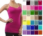 LACE Long LAYERING CAMI 30 COLOR Spaghetti Strap Tank Top PLUS SIZE XL/1X/2X/3X