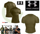 UNDER ARMOUR Tactical HeatGear Compression Full T-Shirts. Colore Desert .