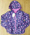 ♥ Bnwt Girls Navy Peppa Pig Rain Coat 1.5-2-3-4-5 Years ♥