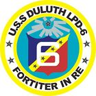 U.S. Navy U.S.S. Duluth Wall Vinyl Decal Sticker Military