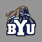 Brigham Young Cougars Ncaa College Vinyl Sticker Decal Car Window Wall Byu