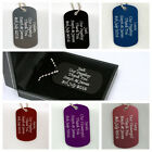Personalised ID Tag Gift Idea For Husband to Be/Groom/Boyfriend/Fiance/Wedding