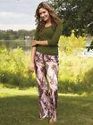 NEW MOSSY OAK CAMO CAMOUFLAGE BREAK UP POLY-JERSEY ORIGINAL OR PINK CASUAL PANTS