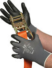 10 x UCI Nitrilon-925G - Nitrile Foam Coated Gloves - Black & Grey