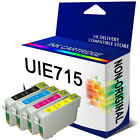 COMPATIBLE INK CARTRIDGES REPLACE For T0715 T0711 - T0714 ( NOT GENUINE )