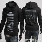 New Mens Fashion Casual  Hoodies Sweats Letters Pullover Jackets Sweatshirt W106