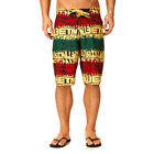 ETNIES costume Looser Boardie nero rasta black green red boardshort surf skate