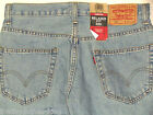 LEVIS Jeans New Mens Original 550 Relaxed Tapered Blue Denim Size 31 X 36 Tall