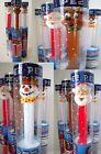 Sealed PEZ Dispenser HOLIDAY TUBES CANDY - Collect SANTA REINDEER SNOWMAN