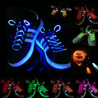 Colorful LED Shoelaces Flash Light Glow Shoes Lace String Disco Bar Party Gift #