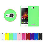 New Stylish Hard PC Back Cover Case Skin Protector for Sony Xperia C S39h C2305