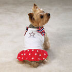 Casual Canine Patriotic Pup Dog Sundress Dress XS S M L XL
