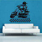 Vespa Win Win Decal Vinyl Wall Sticker  Art Scooter Retro Lambretta