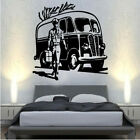 Old style retro VW volkswagen type bus Decal Vinyl Wall Sticker