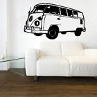 Original VW volkswagen splitscreen camper retro Decal Vinyl Wall Sticker