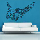 Angel VW volkswagen splitcreen retro camper Decal Vinyl Wall Sticker