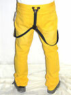 Prpgnda Pants New Mens Spectra Yellow Suspenders Slim Fit Jeans Choose Size