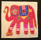 """Indian Handicrafts Ethnic,Traditional Rajasthani Patio Cushion Cover 16"""" X 16"""""""