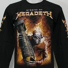 Arsenal of MEGADETH Long Sleeve T-Shirt 100% Cotton Size S M L XL 2XL 3XL